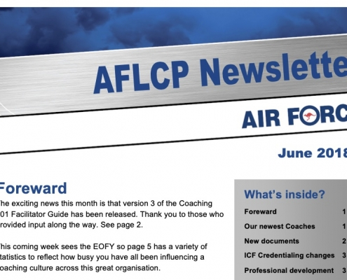 Air Force Newsletter